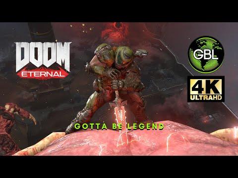 DOOM ETERNAL: ICON OF SIN 4K GAMEPLAY - GOTTA BE LEGEND TV