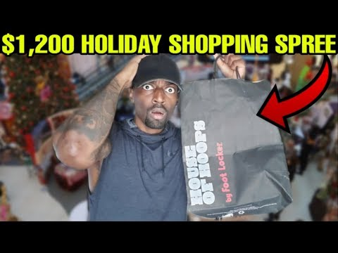 $1,200 HOLIDAY SHOPPING SPREE ON BLACK FRIDAY EVE INVESTMENT!! MOTIVATION VIDEO